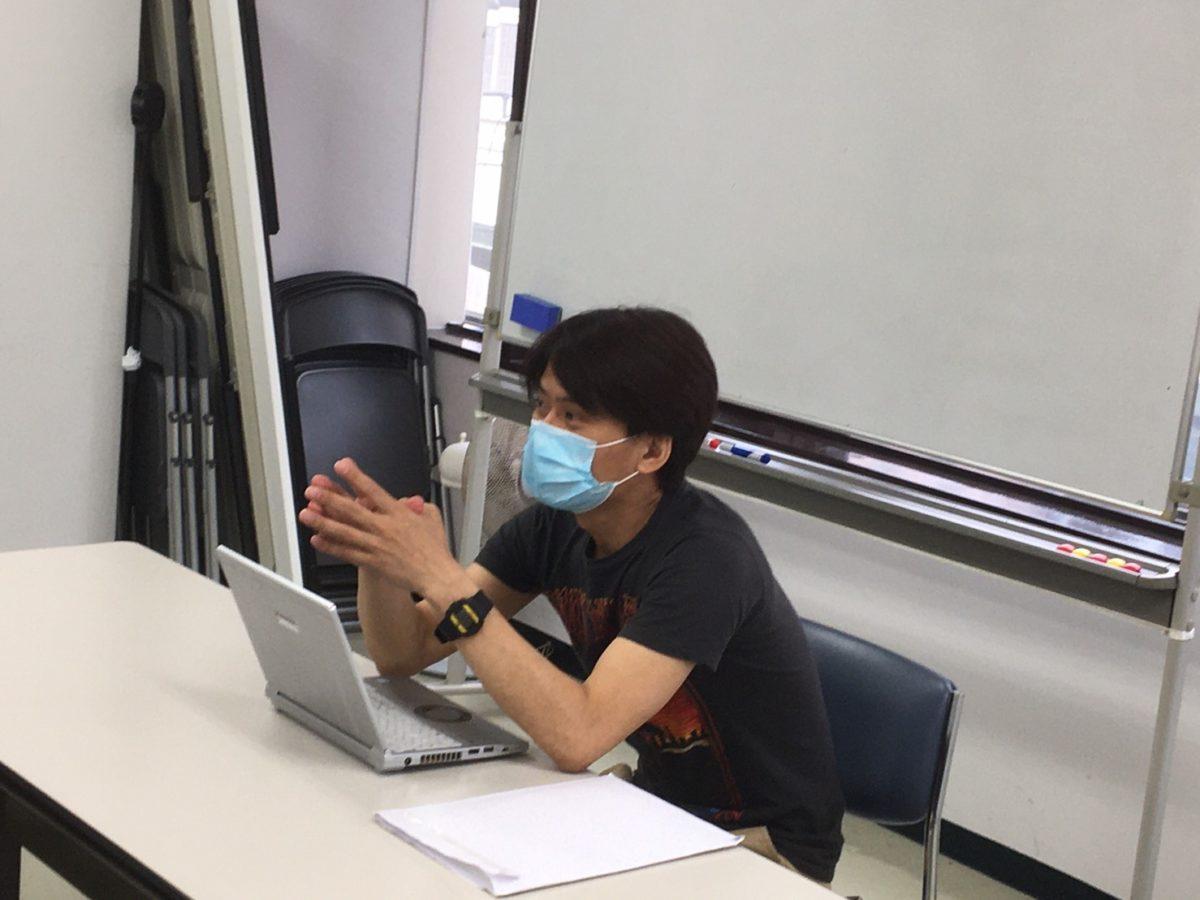 2021年7月10日の授業レポート「蓮池光人先生のゲスト講義」「8/7ライブに向けたネタ」